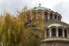 St Nedelya da igreja da catedral em Sófia, Bulgária Fotos de Stock