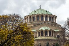 St Nedelya de la iglesia de la catedral en Sofía, Bulgaria Fotografía de archivo