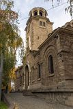 St Nedelya de la iglesia de la catedral en Sofía, Bulgaria Foto de archivo libre de regalías