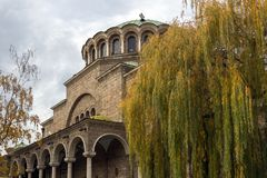 St Nedelya della chiesa della cattedrale a Sofia, Bulgaria Immagini Stock Libere da Diritti