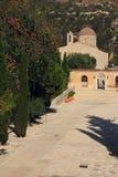 St Neofitas monaster Paphos Cypr fotografia stock
