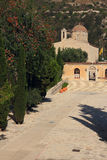 St. Neofitas monastery. Paphos. Cyprus. Stock Photography