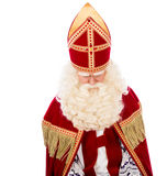 St Nicholas на белой предпосылке Стоковые Фото