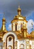 st nicholas церков правоверный Стоковые Фотографии RF