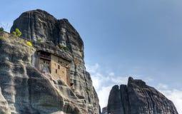 St. Nicholas Anapausas monastery, Meteora, Greece Royalty Free Stock Image