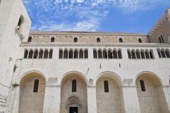 St. Nicholas Basilica. Bari. Apulia. Royalty Free Stock Photography