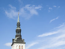 St. Nicholas cathedral on blue sky Stock Image