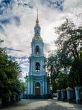 St Nicholas Cathedral, el campanario de la catedral Fotos de archivo