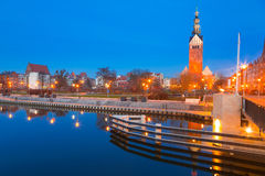 St. Nicholas Cathedral in Elblag Stock Photography