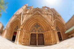 St. Nicholas Cathedral, Famagusta, Cyprus. Lala Mustafa Pasha Mosque, formerly St. Nicholas Cathedral, Famagusta, Cyprus Stock Photography