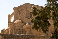 St. Nicholas Cathedral - Famagusta town Royalty Free Stock Photo