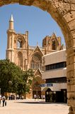 St. Nicholas Cathedral - Famagusta Town Stock Image