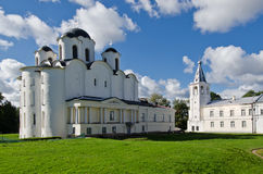 St. Nicholas Cathedral, Grote Novgorod, Rusland Stock Afbeeldingen