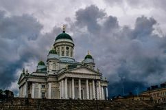 St. Nicholas Cathedral in Helsinki Royalty Free Stock Images