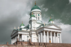 St Nicholas Cathedral in Helsinki, Finland Royalty Free Stock Photography