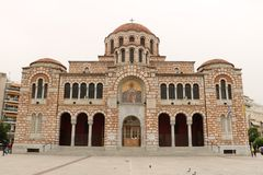 St Nicholas Cathedral i Volos fotografering för bildbyråer