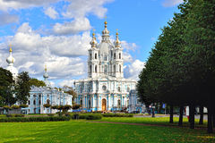 Free St. Nicholas Cathedral In Saint-Petersburg, Russia. Royalty Free Stock Image - 35607516