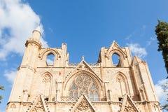 St Nicholas Cathedral (Lala Mustafa Mosque) Royalty-vrije Stock Afbeelding