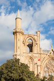 St Nicholas Cathedral (Lala Mustafa Mosque) Stock Afbeelding