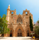 St. Nicholas Cathedral (Lala Mustafa Mosque), Famagusta, Cyprus Stock Images