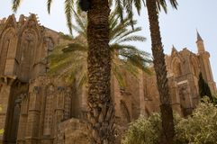 St. Nicholas Cathedral - Lala Mustafa Mosque Royalty Free Stock Photos