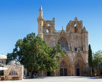 St. Nicholas Cathedral (Lala Mustafa Mosque), Famagusta Stock Photography
