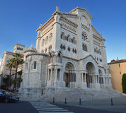 St Nicholas Cathedral , Monaco Stock Images