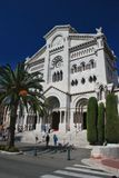 St Nicholas Cathedral, Monaco Royalty Free Stock Image