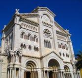 St. Nicholas Cathedral in Monaco Ville in Monaco Monte Carlo, Cote d`Azur. royalty free stock photo