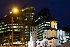 St. Nicholas Cathedral in Moskau Lizenzfreies Stockfoto