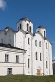 St. Nicholas Cathedral,  Novgorod the Great Stock Image