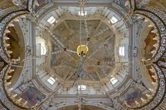 St Nicholas Cathedral Old Town Prague Fotografia Stock
