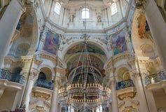 St Nicholas Cathedral Old Town Prague Fotografie Stock Libere da Diritti