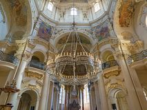 St Nicholas Cathedral Old Town Prague Stock Foto