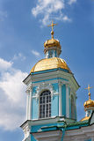 St. Nicholas cathedral in Saint-Petersburg, Russia Stock Photo