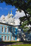 St. Nicholas Cathedral in Saint-Petersburg, Russia. Stock Images