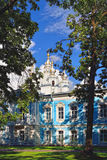 St. Nicholas Cathedral in Saint-Petersburg, Russia. Royalty Free Stock Image
