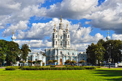 St. Nicholas Cathedral in Saint-Petersburg, Russia. Royalty Free Stock Photography
