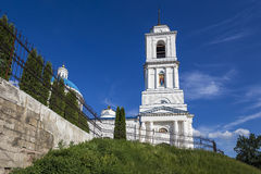 St. Nicholas Cathedral of Serpukhov Stock Images