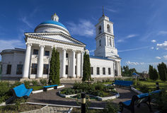 St. Nicholas Cathedral of Serpukhov Royalty Free Stock Images