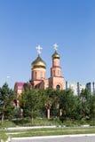 St. Nicholas Cathedral. Temirtau, Kazakhstan. St. Nicholas Cathedral. Temirtau Kazakhstan stock images