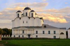 St Nicholas Cathedral, Veliky Novgorod Imagen de archivo