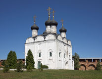 St. Nicholas Cathedral of Zaraysk Kremlin Royalty Free Stock Photo