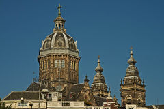 St. Nicholas church, Amsterdam Royalty Free Stock Image