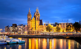 St Nicholas Church Amsterdam Stock Photography