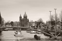 St. Nicholas Church Amsterdam Royalty Free Stock Photography