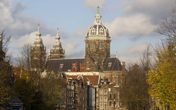 St. Nicholas Church in Amsterdam Stock Image