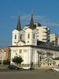 St. Nicholas church Bacau Royalty Free Stock Photo