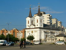 St. Nicholas church Bacau Stock Image
