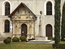 St. Nicholas church and Benedictine abbey in Jaroslaw. Poland Stock Photos